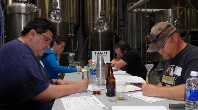 Judging the 2014 Great Basin Brew-Off